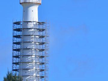 Lighthouse refurbished
